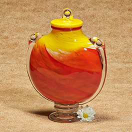 Glass Urns